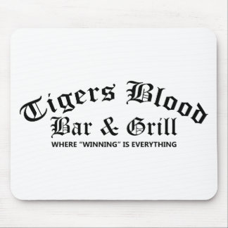 Tigers Blood Bar & Grill Mouse Mat