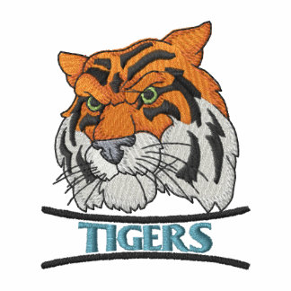Tigers Embroidered Polo Shirt