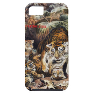 Tigers for Responsible Travel iPhone 5 Cover