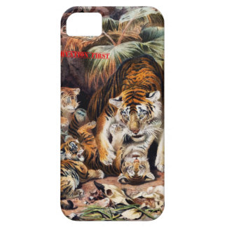 Tigers for Responsible Travel iPhone 5 Covers