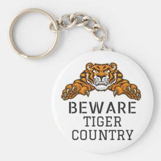 Tigers HS Mascot KEYCHAIN