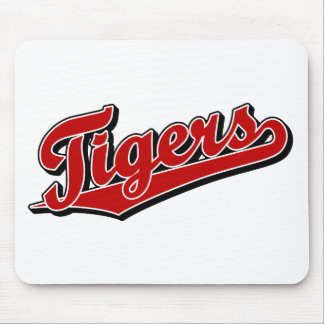 Tigers in Red Mouse Pad