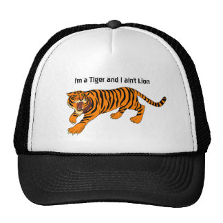 Tigers, Lions and Puns Cap