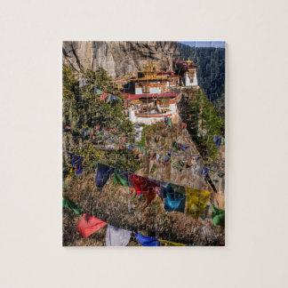 Tiger's Nest Monastery, Bhutan Jigsaw Puzzle