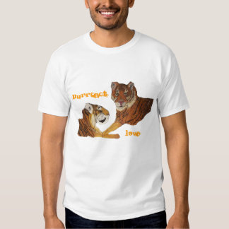 Tigers Purrfect Love T Shirt