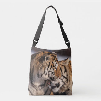 Tigers Showing Affection Crossbody Bag