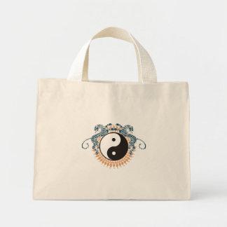 Tigers & Yin Yang Mini Tote Bag