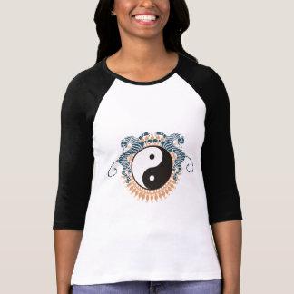 Tigers & Yin Yang T-Shirt