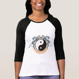 Tigers Yin Yang T-Shirt Tees