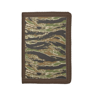 Tigerstripe Camo Trifold Wallets