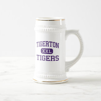 Tigerton - Tigers - High - Tigerton Wisconsin Beer Steins