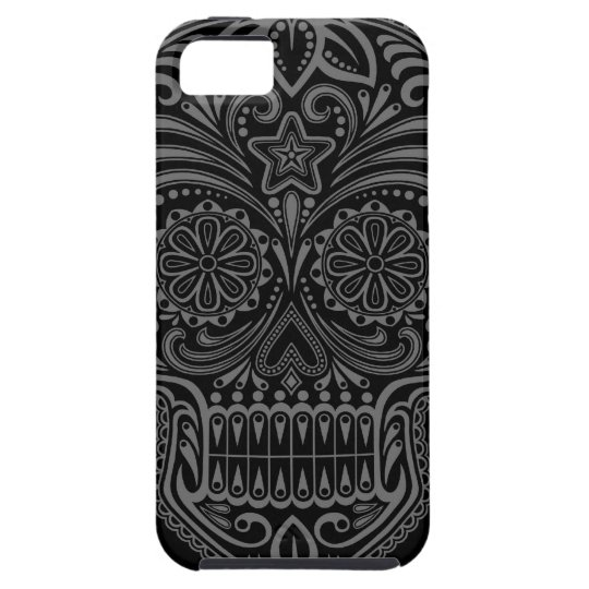 Tight Dark Sugar Skull iPhone 5 Cases