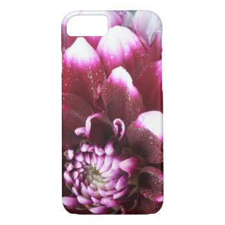 Tight in photographs of Dalhia flower with the iPhone 7 Case