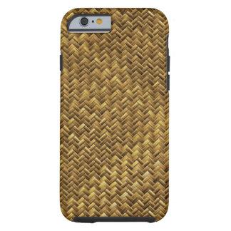 Tight Weave Basket Pattern Tough iPhone 6 Case