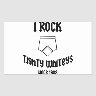 tight whites rectangular stickers