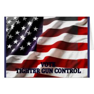 Tighter Gun Control Greeting Card