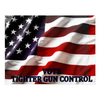 Tighter Gun Control Postcard
