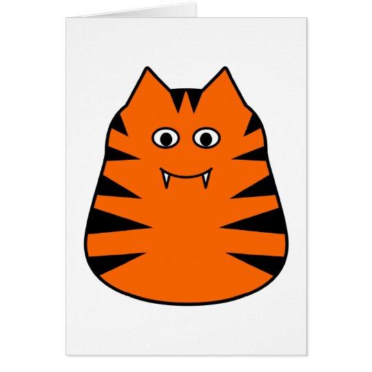 Tigr - Cute Tiger Greetings Card