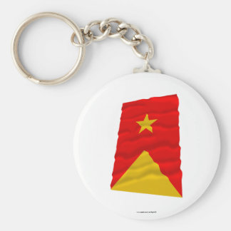 Tigray Waving Flag Key Ring