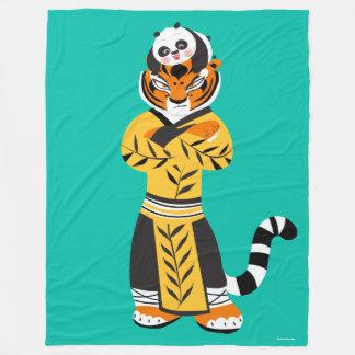 Tigress and Baby Panda Fleece Blanket