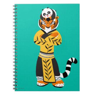 Tigress and Baby Panda Notebooks