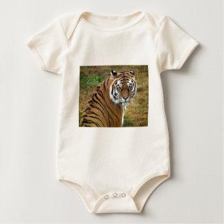 Tigress in the rain baby bodysuit