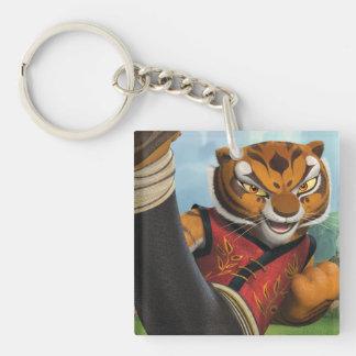 Tigress Kick Key Ring