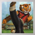 Tigress Kick Poster
