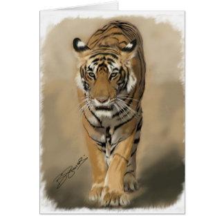 Tigress of Ranthambhore (Satra) Card