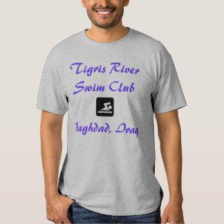 Tigris River Swim Club, Baghdad, Iraq Tee Shirt