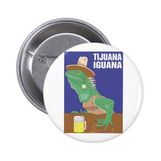 Tijuana Iguana Design Pins