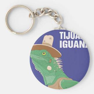 Tijuana Iguana Design Key Chain