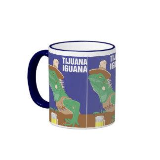 Tijuana Iguana Design Coffee Mugs