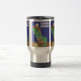 Tijuana Iguana Design Stainless Steel Travel Mug