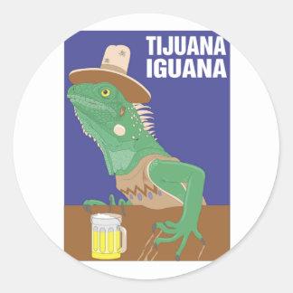 Tijuana Iguana Design Sticker