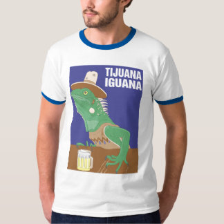 Tijuana Iguana Design T-Shirt