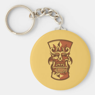 Tiki Art Key Ring