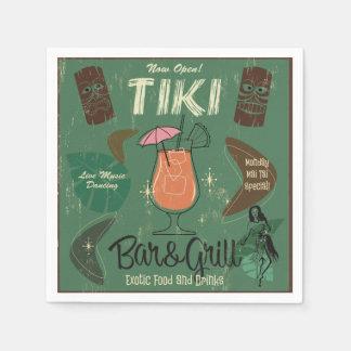 Tiki Bar&Grill Cocktail Napkins Disposable Napkin
