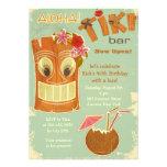 Tiki Bar Invitation