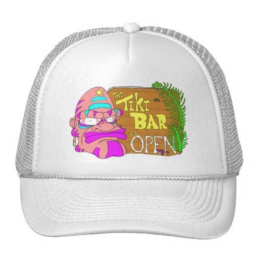Tiki Bar is open Hat