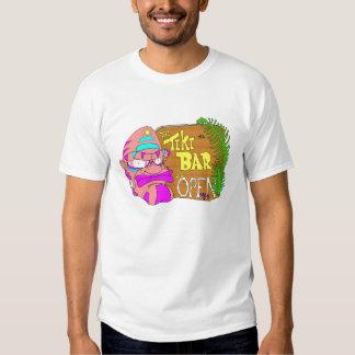 Tiki Bar is OPEN Tshirts
