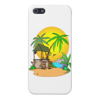 Tiki Bar Island iPhone 5/5S Cover