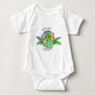 Tiki Bar Lizard Baby Bodysuit