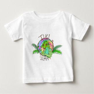 Tiki Bar Lizard Baby T-Shirt