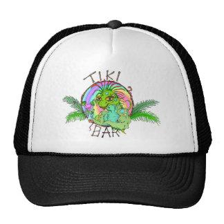 Tiki Bar Lizard Hats