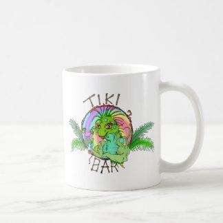 Tiki Bar Lizard Mug