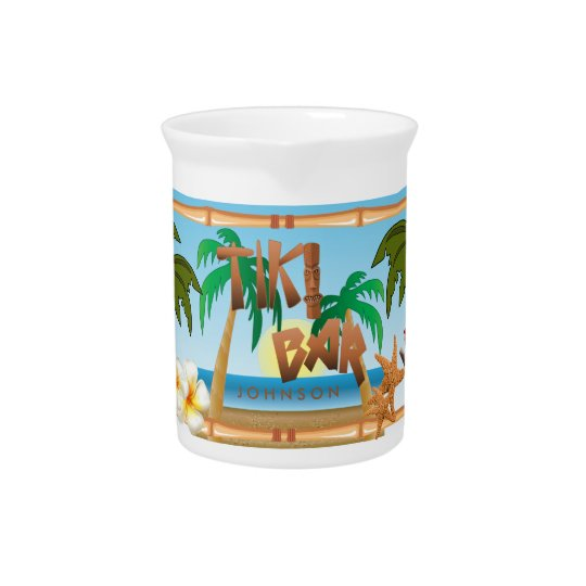Tiki Bar Party Beverage Pitchers