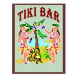 Tiki Bar Postcards