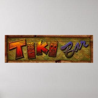 Tiki Bar sign design
