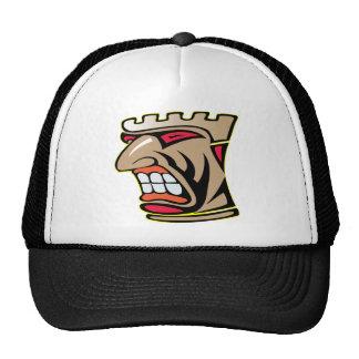 Tiki God Face Totem Mesh Hat